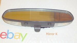 2000 2004 Ford Mustang Convertible Lighted Rear View Mirror 00 01 02 03 04