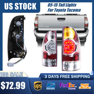 Pair For Toyota Tacoma Right Left Side Tail Lights Brake Taillights 2005 2015