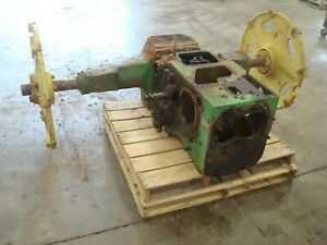 1953 John Deere 60 Tractor Rear End Transmission Assembly