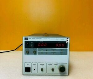 Hp Agilent 6033a 0 To 20 Volts 0 To 30 Amps 600 Watts Dc Power Supply Tested