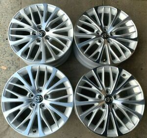 Four 2020 Toyota Camry Factory 18 Wheels Rims Oem 75221