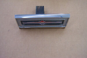 1965 Chrysler 300 Rear Seat Trim And Emblem In Very Nice Condition