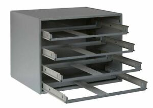 Metal 4 Drawer Large Tray Storage Compartment Parts Fitting Bolts Storage Garage