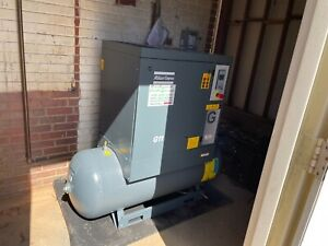 15 Hp Atlas Copco G11 175 Psi Rotary Screw Air Compressor
