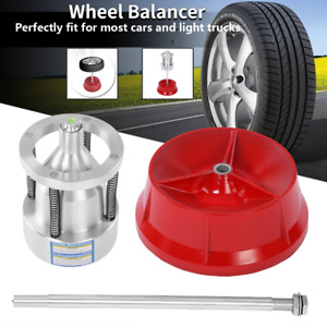 Car Truck Portable Hubs Wheel Tire Balancer Bubble Level Heavy Duty For Rim