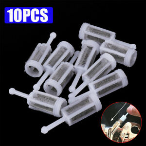 10pcs Car Disposable Gravity Feed Filter Paint Spray Gun Mesh Strainers Tools