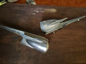 Atomic Rocket Ship 1958 Studebaker Hawk Fender Parking Turn Signal Lights Ratrod