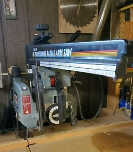 10 Delta Radial Arm Saw Great Condition Woodworkers Dream