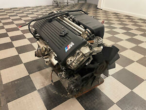Bmw E46 M3 S54 S 54 Engine Motor Only Complete Harness Accessories