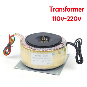 110 220v 900w Low Cover Toroidal Transformer Isolation Transformer Frequency Us