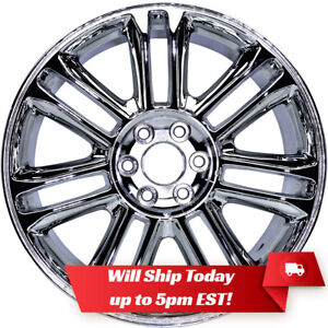 New 22 Replacement Chrome Alloy Wheel Rim For 2007 2014 Cadillac Escalade 5358