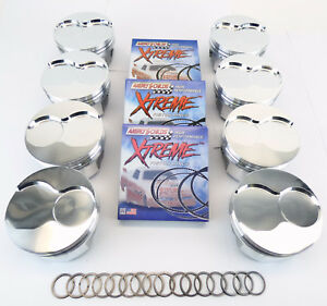 Oldsmobile 425 030 Bore Forged Piston And Ring Set