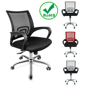 Swivel Office Chair Ergonomic Executive Computer Desk Seat Task Mesh Chairs Home