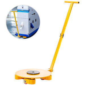 Industrial Machinery Mover 6t 13200lb Heavyduty Machine Dolly Skate 360 rotation