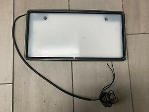 Jdm Light Up License Plate Tag Holder Japanese