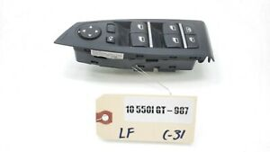 2010 2017 Bmw 550i Gt F07 Left Driver Front Master Window Switch Oem