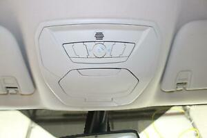 2013 14 Ford Escape Gray W Voice Recognition Upper Overhead Console Sync Oem