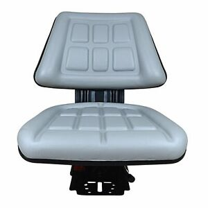 Grey Triback Suspension Seat Fits Ford new Holland 600 601 800 801 860 Tractor