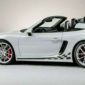 Side Stripe Kit For Porsche Boxster 981 718 Decals