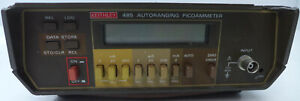 Keithley 485 4 5 Digit Picoammeter Tested And Working 3