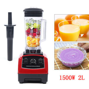 Heavy Duty Commercial Grade Electric Mixer Juicer Blender Processor 2l 1500w 2hp