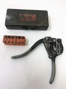 Vintage Whitney Metal Tool Co Punch No 5 Jr