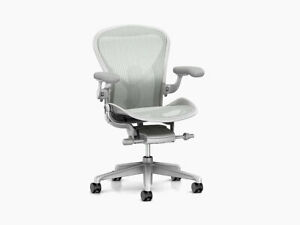 Herman Miller Aeron Chair Size C Large Floor Models Office Designs Outlet