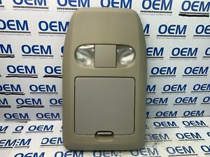 05 06 07 08 Ford F 150 F150 Roof Overhead Dome Console Map Lights Gray Oem