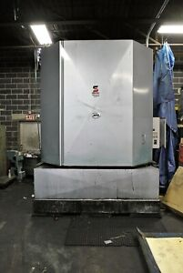 Jri Parts Washer gas Heated 84in X 84in Inside Capacity Excellent Condition