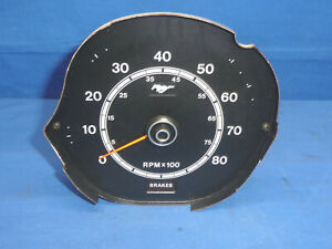 Original Ford 1971 73 Mustang Factory In dash 8k Tachometer Ct25