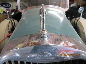 Lincoln Radiator Ornament Cap 1926 1927 1928 Made By L T Barrick