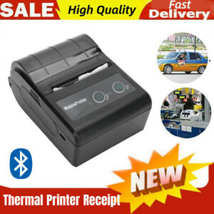 Bluetooth Thermal Label Printer Wireless Pos Receipt Handheld Re