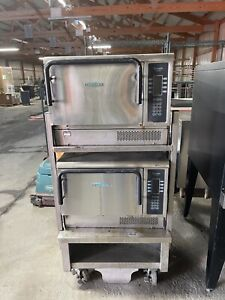 2012 Later Set Of 2 Turbochef Tornado Ngc High Sp Convection Oven W Stand