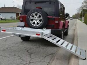 Erickson Deluxe Aluminum Cargo Carrier With Ramp S