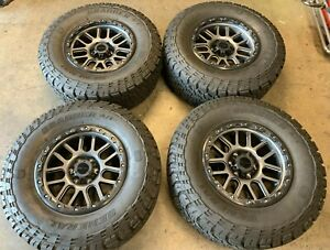 2020 Roush Ford Raptor 18 Wheels Tires Rims F150 Requires 4 Lift Kit