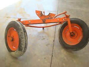 1949 Allis Chalmers B Tractor Adjustable Wide Front End