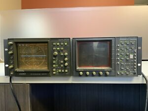 Tektronix 1750a Leader 5872a Vector And Waveform Monitor