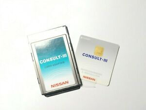 Nissan Consult 3 Plus Security Reprogramming Immobilizer Card With Adapter