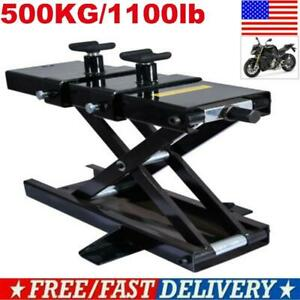 Motorcycle Dirt Bike Atv Scissor Jack Lifts Hoist Mini Crank Hydraulic Operated