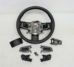 2018 2019 2020 2021 New Take Off Oem Ford Mustang Steering Wheel Leather