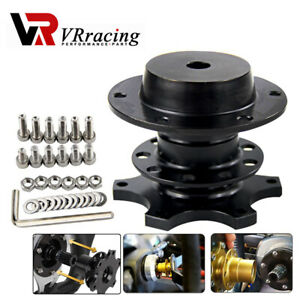 Steering Wheel Quick Release Hub Adapter Removable Snap Off Boss Kit