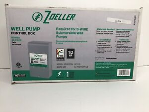 3 Wire 1 2 Hp Zoeller Well Pump Control Box Submersible New 230 Volt 6 Amp