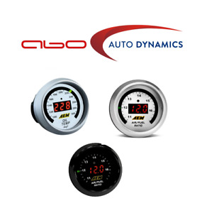 Aem For Uego Wideband A f Ratio transmission oil water Temp 3 Gauges Combo Set