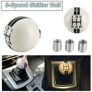 For Ford Mustang Shelby Gt 500 5 Speed Stick Gear Shift Knob Shifter Black w