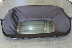 Oem Factory 06 15 Mazda Mx 5 Miata Convertible Top Brown Cloth Without Hard Top