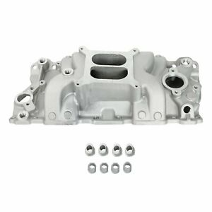 Fits 1957 86 Chevy Aluminum Intake Manifold 305 327 350 400 Small Block
