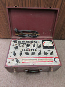 Hickok Model 600 Vacuum Tube Tester Non working For Parts Or Repair