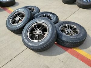 17 Jeep Wrangler Gladiator Oem Wheels Rims Tires 2017 2018 2019 2020 2021 9158