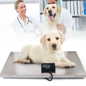 Lcd Multi use Digital Shipping Scale Animal Pet Parcel Platform Scale Max 440lb