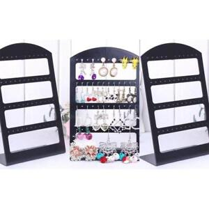 48 Holes Earring Stand Necklace Holder Bracelet Display Jewellery Organizer Rack